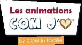 Les animations COM J'aime Logo